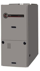 Ruud Ultra™ 21 in. 75000 BTU 80% AFUE 4 Ton Two-Stage Upflow and Horizontal 3/4 hp Natural or Propane Furnace RU802VA075421MSA