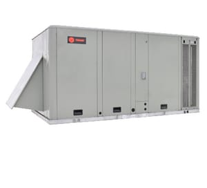 Trane Foundation™ 4 Tons 460V Three Phase Commercial Packaged Gas/Electric Unit TEBC048A4E0A0000