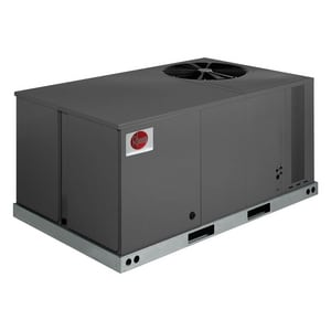 Rheem Commercial Classic™ 76 in. 4 Tons 208/230V 1-Phase Convertible Commercial Packaged Air Conditioner RLPNA048JK000
