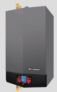 Lochinvar Knight® Commercial and Residential Gas Boiler 55 MBH Natural Gas LWHB055N