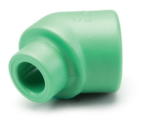 Aquatherm Greenpipe® 3/4 in. Female x Male Straight and Street Polypropylene 45 Degree Elbow in Green A0112710