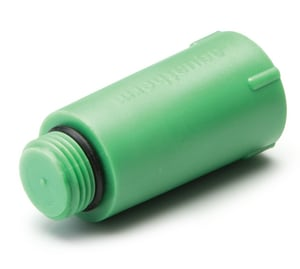 Aquatherm Fusiotherm® MIP SDR 7 Polypropylene Test Plug with Gasket in Green A00507