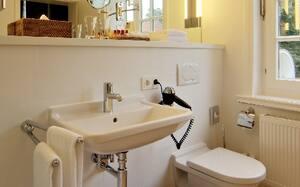 Duravit Starck 3 Wall Mount Bathroom Sink in White D0750450000