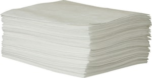 Brady Worldwide ENV® Maxx Oil Only Absorbent Pad in White (Case of 50) BENV50 at Pollardwater