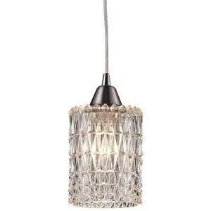 ELK Lighting 60W 1-Light Pendant Ceiling Light in Satin Nickel E103431