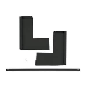 GE Appliances 36 in. Over-the-Range Microwave Accessory Filler Kit in Black Stainless GJX36DTS