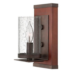 Fredrick Ramond Jasper 60W 1-Light Wall Sconce in Rustic Iron FFR40200IRN