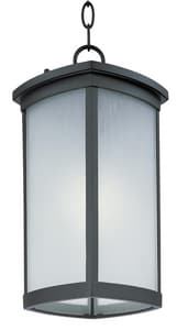 Maxim Lighting International Terrace 12W 1-Light Medium E-26 LED Outdoor Pendant in Bronze M65759FSBZ