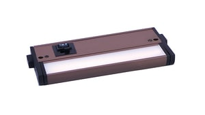Maxim CounterMax 6 in. 3W 1-Light Integrated LED Under Cabinet Lighting in Bronze M89892BZ