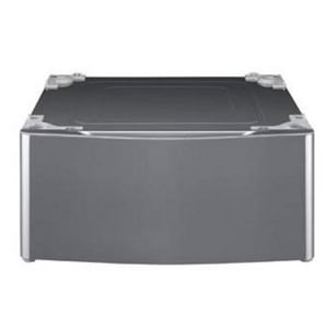 LG Electronics 29-2/5 in. Laundry Pedestal with Drawer in Graphite Steel LGWDP5V