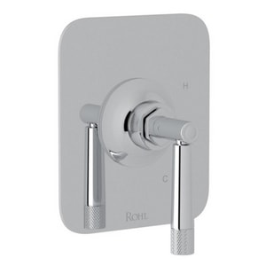 ROHL® Pressure Balance Trim with Single Lever Handle (Less Diverter) for RCT-1 Rough Valve in Polished Chrome RMB2043LMAPC
