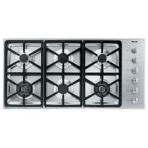 Miele Appliances 42 in. 6-Burner Liquid Propane Gas Cooktop in Stainless Steel MKM3484LPSS