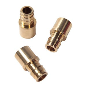 Watts F1960 3/4 in. F1960 x Male Sweat Brass Adapter WLFPF675X10