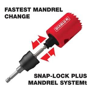 Diablo Tools Snap-Lock™ 3/8 x 2-9/16 in. Hole Saw 1 Piece DDHS2563