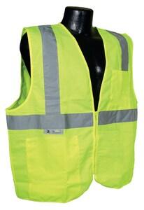 Radians Radwear™ M Size Polyester Safety Vest in Hi-Viz Green RSV2GSM at Pollardwater