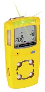 BW Technologies Carbon Monoxide, Hydrogen Sulfide and Oxygen Detector in Yellow HMCXLXWHMYNA