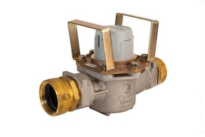 Elster Amco Water 3 in. Hydrant Meter - Cubic Foot HBQT0002XPDXXXXX at Pollardwater