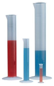 Bel-Art Products 250ml Polypropylene Single Scale Cylinder BF284560000 at Pollardwater
