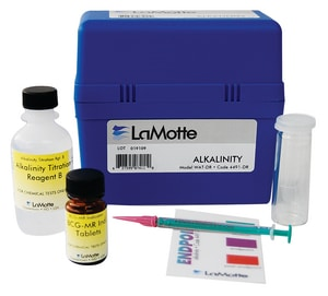 Lamotte Alkalinity Test Kit for Phenolphthalein and Total Alkalinity L346701 at Pollardwater