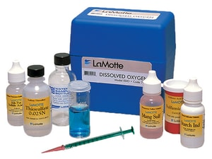 Lamotte Dissolved Oxygen Test Kit for Laundry, Sanitary, Water and Waste Water L586001 at Pollardwater