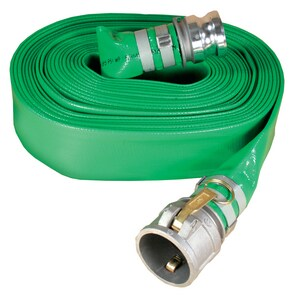 Abbott Rubber Co Inc 2 in. x 50 ft. Male Quick Connect x Female Quick Connect PVC Discharge Hose in Green A1142200050CE at Pollardwater