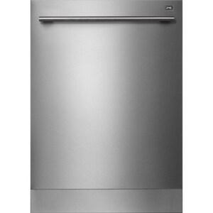 Asko 23-7/8 in. 44dB Built-In Dishwasher in Stainless Steel AD5656XXLHSTH