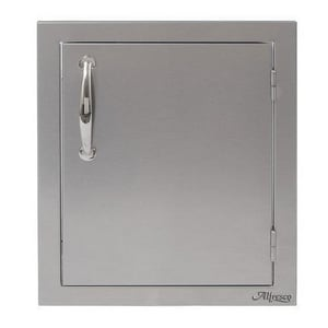 Alfresco 16-1/2 in. Stainless Steel Single Accent Right Door AABR