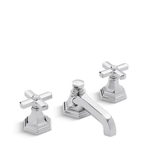 Kallista For Town Two Handle Bathroom Sink Faucet in Polished Chrome KP2273100