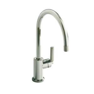 Kallista Vir Stil® 1-Hole Kitchen Faucet with Single Lever Handle in Polished Chrome KP2306400CP
