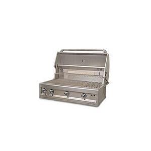 Alfresco Artisan 34-1/2 in. 3-Burner Outdoor Built-In Natural Gas Grill in Stainless Steel AART236