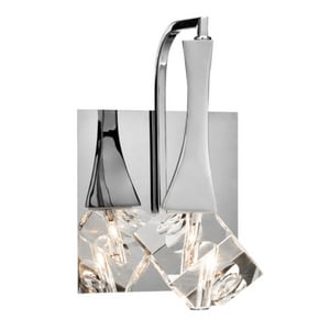Elan Lighting Rockne™ 1-Light Wall Sconce in Polished Chrome E83135