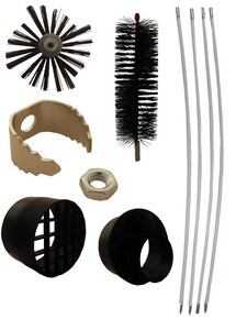 Supco 12 ft. Dryer Vent Cleaning Kit SRLE202