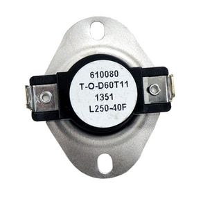 Supco Therm-O-Disc® 120/125/240V 250F Thermostat SL250
