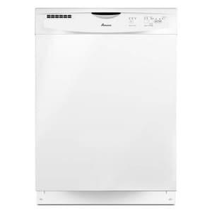 Amana 24 in. Front Control Tall Tube Dishwasher in White AADB1400PYW