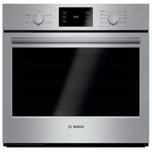 Bosch 29-3/4 in. 4.6 cf Single Electric Wall Oven in Stainless Steel BHBL5351UC