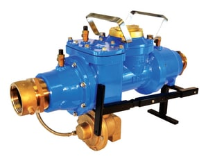 FHD 2-1/2 in. Hydrant Meter with RPZ Backflow, US Gallons ZFHD30SUSRP