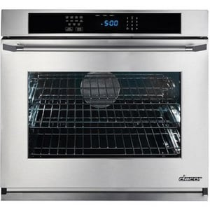 Dacor Heritage 29-7/8 in. 4.8 cf Wall Mount Single Electric Oven with Epicure Style Handle in Stainless Steel DRNWO130ES