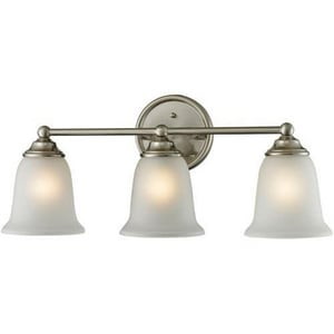 ELK Lighting Sudbury™ 3-Light Bath Bar in Brushed Nickel E5603BB20