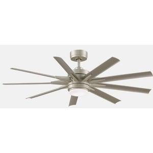 Fanimation Odyn™ 37W 9-Blade Ceiling Fan Motor in Brushed Nickel FMAD8152BNW