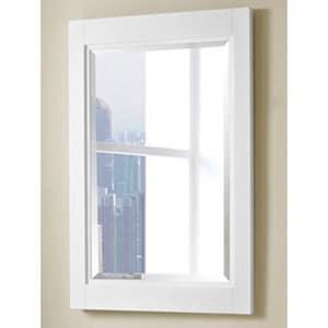 Fairmont Designs Uptown 36 x 24 in. Mirror in Glossy White F1520M24