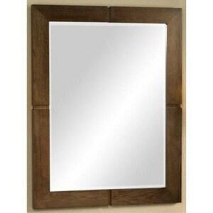 Fairmont Designs 36 x 28 in. Windwood Mirror in Natural Walnut F111M