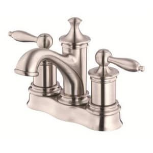 Danze Prince™ 3-Hole Centerset Lavatory Faucet with Double Lever Handle in Brushed Nickel DD301010BN