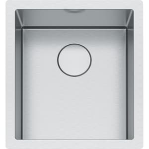 Franke Professional 2 17-1/2 x 19-1/2 in. No Hole Single Bowl Undermount Kitchen Sink in Stainless Steel FPS2X11015