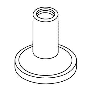 Kohler Handle in Polished Chrome K1009888-CP