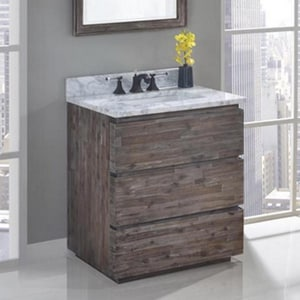 Fairmont Designs Acacia 34-1/2 x 30 x 21-1/4 in. Vanity in Organic Brown F1522V30