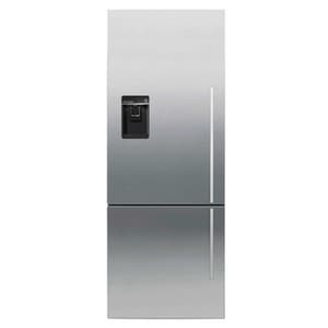 Fisher & Paykel ActiveSmart® 13.4 cf Bottom Freezer Refrigerator with Integrated Ice Maker in Stainless Steel FRF135BDLUX4