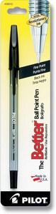 Pilot Pen Corp Of America Bulk Blister Better Ball Point in Black PBBPSBLKF6PK