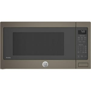 GE Appliances Profile™ Series 2.2 cf Countertop Sensor Microwave Oven in Slate GPES7227ELES