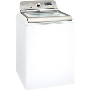 General Electric Appliances Top load High EfficiencyWasher in White GGTWN8250DWS