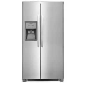 Frigidaire 22 cf Side-by-Side Refrigerator in Stainless FFFSS2325T